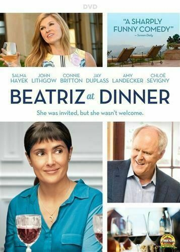 Beatriz At DinnerVery Good DVD Salma Hayek Chloë Sevigny John Lithgow Conni