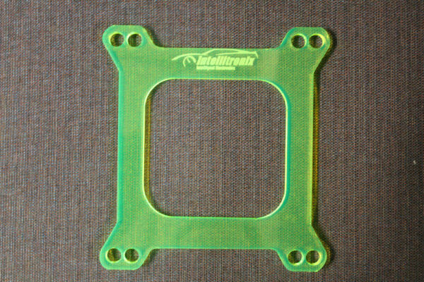 1 4#x27;#x27; Carb Spacer Holley Carburetor Transparent Acrylic Spacer Made in USA $17.05