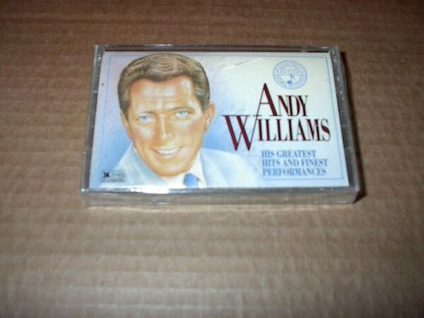 Andy Williams His Greatest Hits & Finest Performances Vol 1 Cassette Tape Sealed