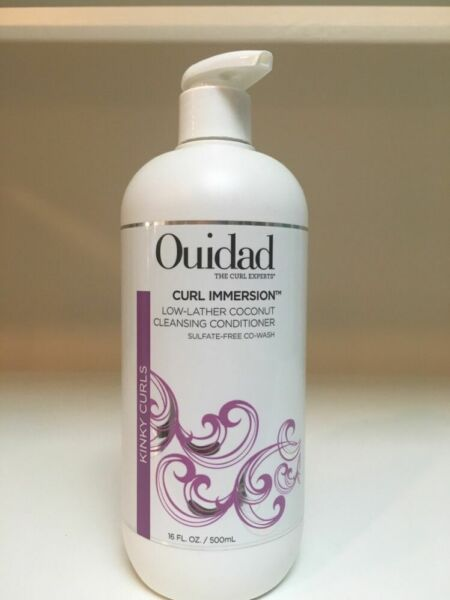 OUIDAD ~ CURL IMMERSION ~ Low-Lather Cleansing Conditioner ~ Sulfate Free 16oz