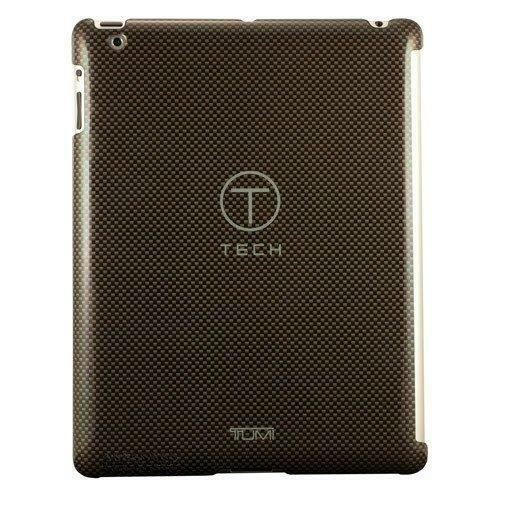 TUMI T Tech Polycarbonate Snap Case for iPad1 or iPad2 NEW Carbon Fiber Pattern $29.95