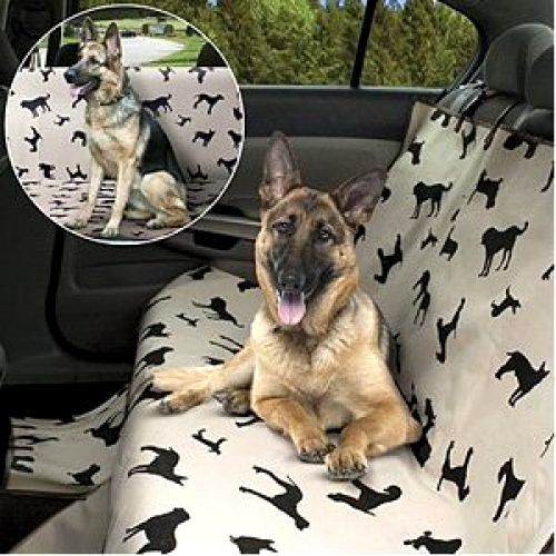 New Pet Dog Seat Cover For Car Waterproof Back Seat Plush Rear Protector Travel $20.94