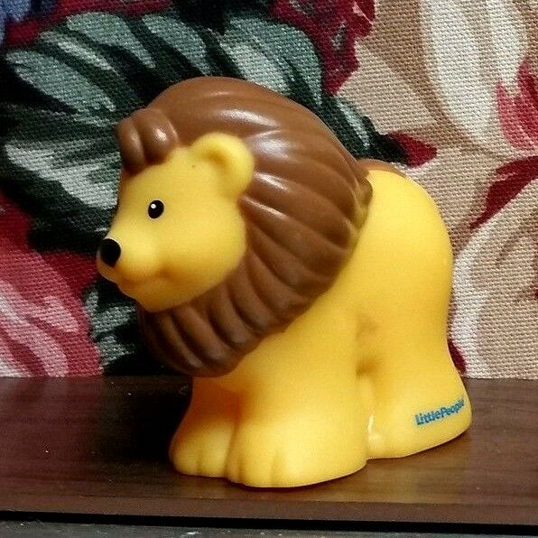 Fisher Price~Little People Replacement Animal~Lion~FarmZooNoah's Ark