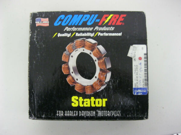 COMPU FIRE 40 AMP REPLACEMENT BIG TWIN HARLEY STATOR #x27;02 #x27;05 FLT $89.99