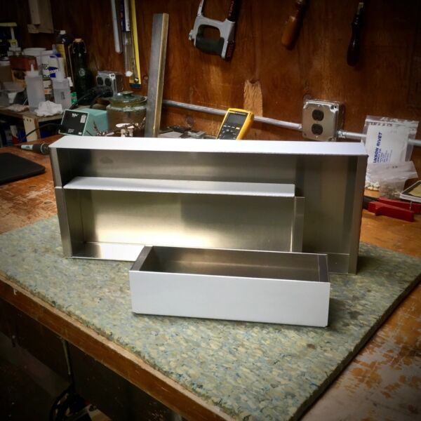 Custom Amp Chassis w Optional IEC Knockout $47.00