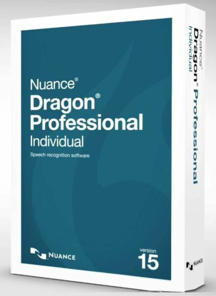 Nuance Dragon 15 Professional Individual D0WNL0AD GENUINE (NOT Illegal