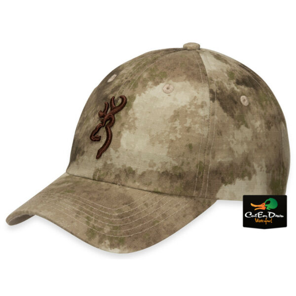 NEW BROWNING SPEED BALL CAP HAT BUCKMARK LOGO ATACS AU CAMO