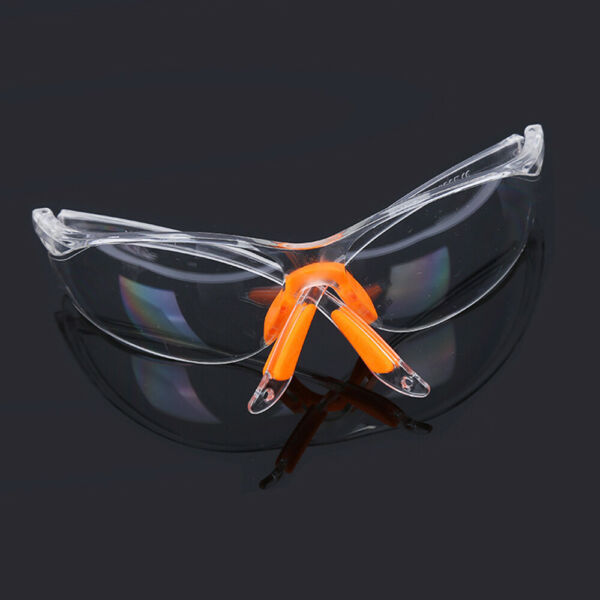 Factory Clear Lab Outdoor Work Anti-impact Goggles Safety Eye Protective Glasses