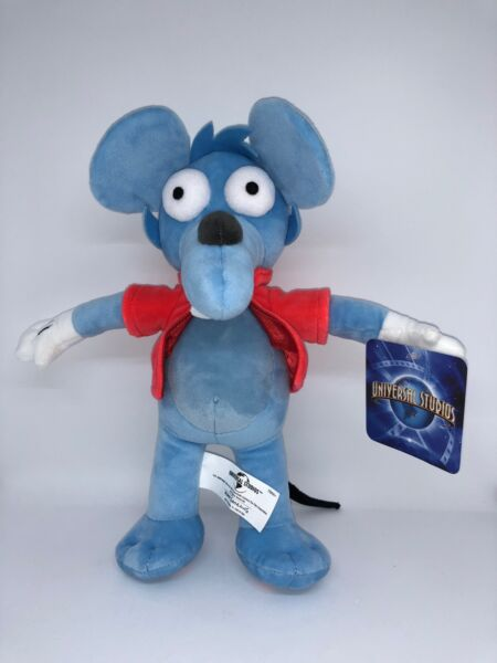 Universal Studios The Simpsons Itchy Mouse Plush New with Tags $29.36