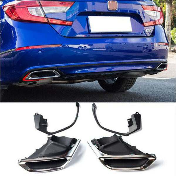 For Honda Accord 2018 20 Exhaust Muffler Tail Pipe Tip Tailpipe Modified upgrade