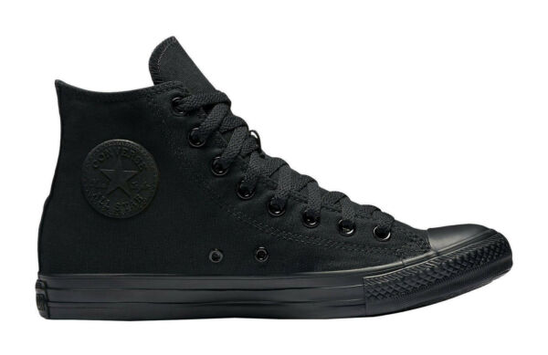Converse All Star Chuck Taylor Shoes All Black Canvas Hi Top Men Sneakers M3310
