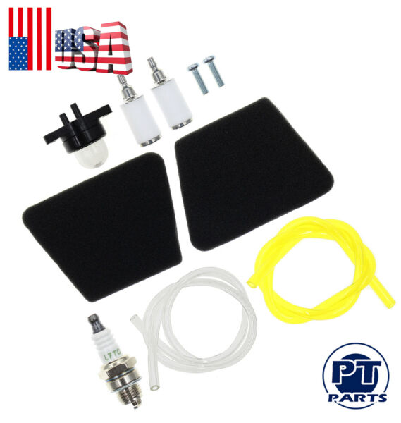 Air Fuel Filter F Craftsman 2025 Poulan Chainsaw Rep Gas Saw Fuel Line Kit For