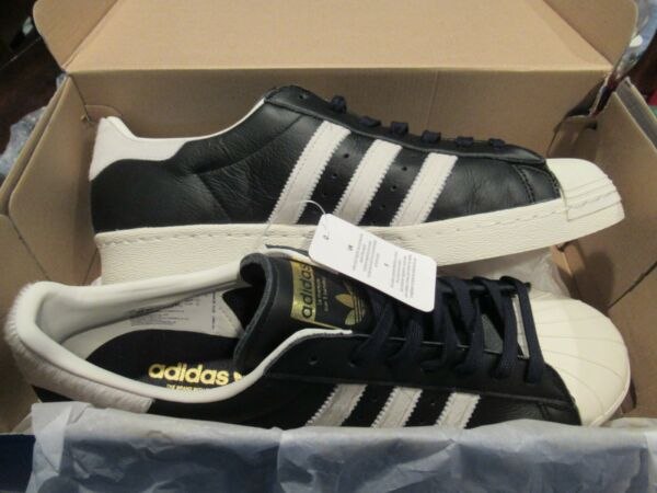 *NEW* ADIDAS SUPERSTAR 80s ORIGINALS CASUAL SHOES SNEAKERS BB2232 MENS SIZE 13