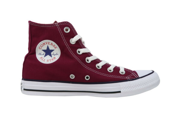 Converse Chuck Taylor All Star Hi Top Shoes M9613 - Maroon/White