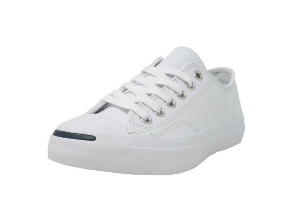 Converse Jack Purcell Low Top Synthetic Leather Shoes 1S961 - White