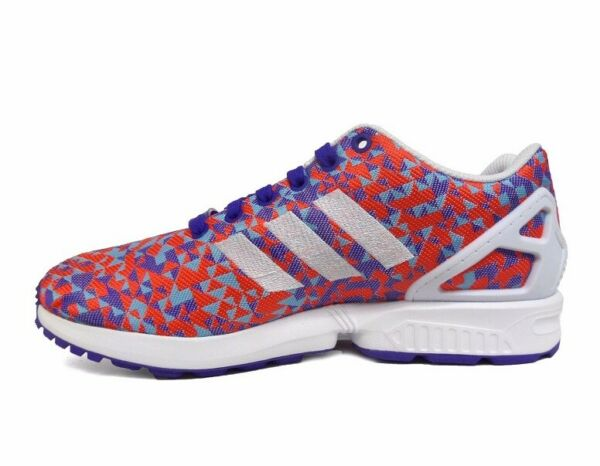 ADIDAS ZX FLUX WEAVE SNEAKERS NEW MEN'S SIZE 10.5 NIGHT FLASH/BLACK/WHITE