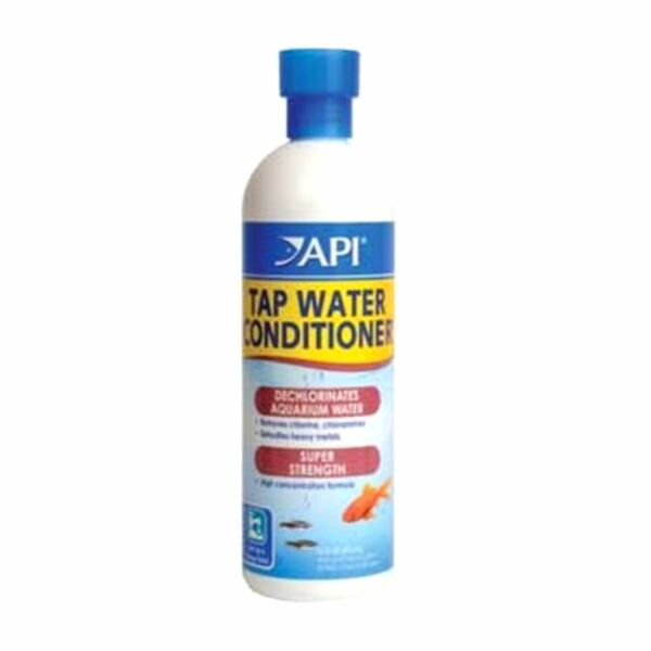 API Tap Water Conditioner Safe for all aquarium life Works instant Size:16 oz $12.18