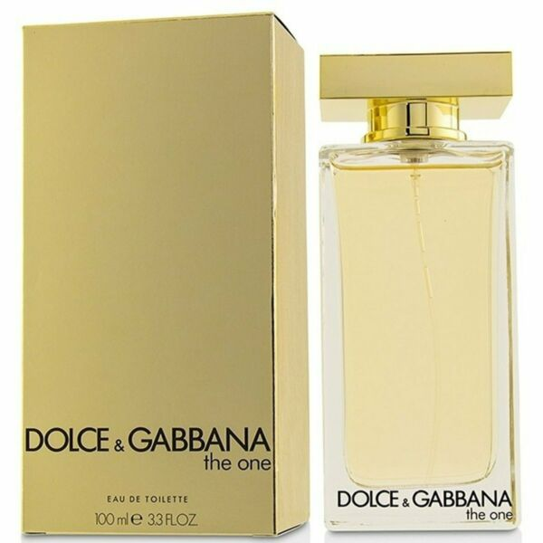 D amp; G THE ONE by Dolce amp; Gabbana for her EDT 3.3 3.4 oz New in Box