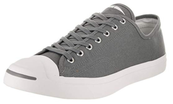 $100 size 12 Converse Unisex Jack Purcell Jack Ox Gray Low Sneakers Mens Shoe