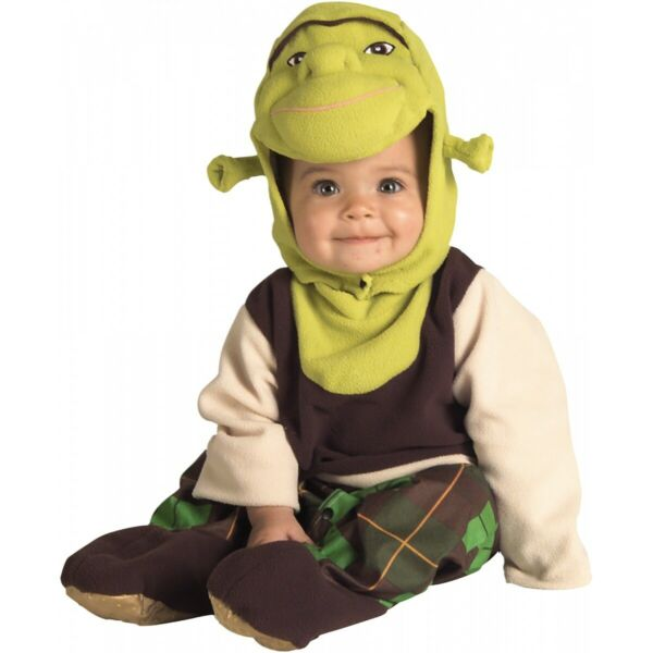 Shrek Baby Costume Halloween Fancy Dress