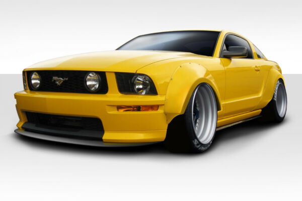 05-09 Ford Mustang Duraflex Circuit Wide Body 75MM Fender Flares 4p 112888