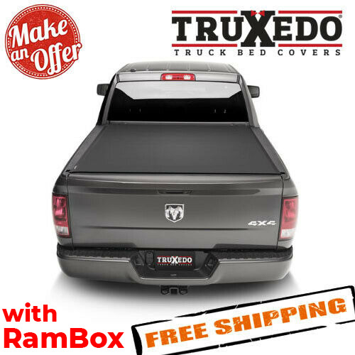 TruXedo 1547916 Sentry CT Tonneau Cover for 12-18 Ram 150012-19 25003500 6'4