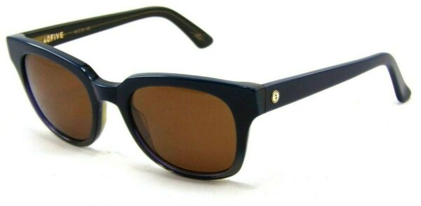 New Electric 40Five Sunglasses Navy Fade Frames Brown Lenses Retail $175 $25.00