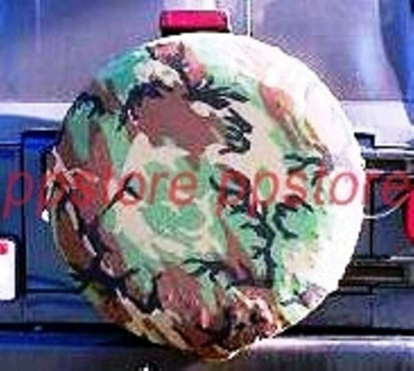 15quot; DIY trailer Spare tire tyre Wheel Cover Camo Camouflage PB15MCMFG brand new $9.99