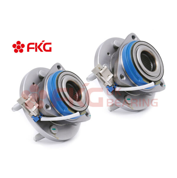 2 Front Wheel Hub Bearings for Pontiac Buick Regal Cadillac Deville DTS 513121x2