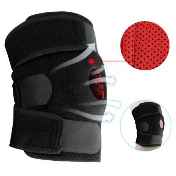 Knee Brace Support Sleeve Leg Wrap Cap Stabilizer For Arthritis PainRunningGym