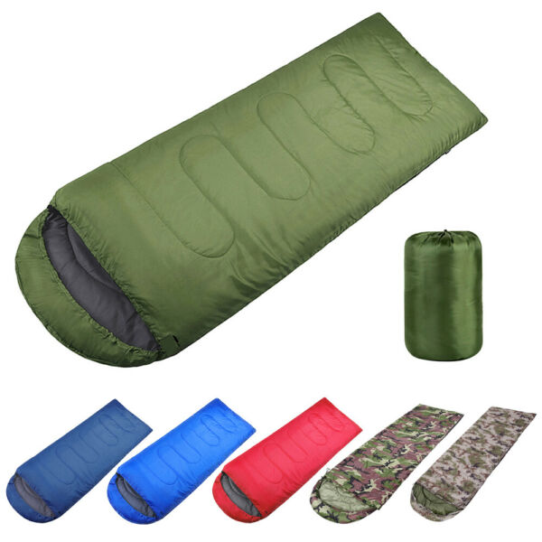 Outdoor Envelope Ultralight Sleeping Bag Waterproof Warm Adult Camping Hiking US $21.89