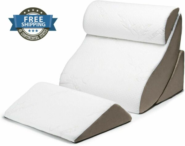 Orthopedic Support Pillow Comfortable Elevated Therapeutic Bed Removable Cover $214.30