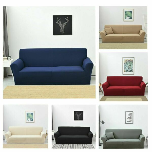 Jacquard Sofa Cover 1 4 Seats Couch Covers Slipcovers Furniture Protectors US $38.59