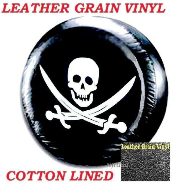 13quot; DIY trailer Spare tire tyre Cover Pirate Skull Heavy Duty Vinyl Material S $12.88
