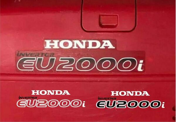 Honda EU2000i Generator replacement decals stickers graphics tracked shipping