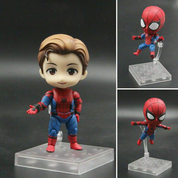 Nendoroid 781 Avengers 3 Infinity War Spider-Man Figure Xmas Toy Collectible T