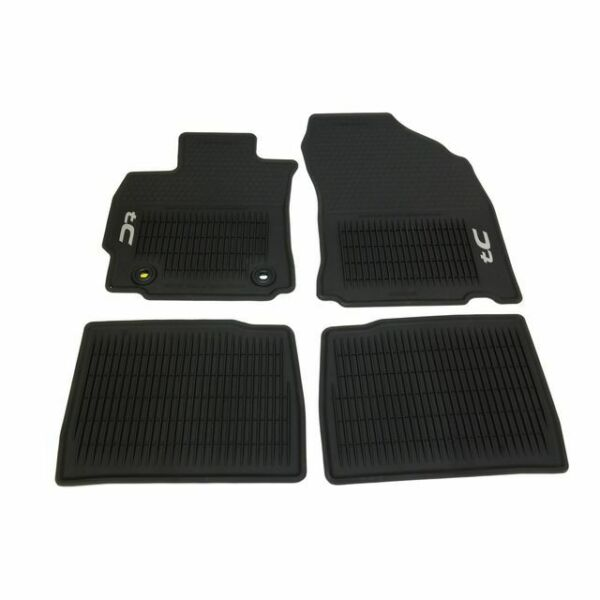 OEM NEW Front & Rear All Weather Floor Mats Black 14-16 Scion tC PT2062114520