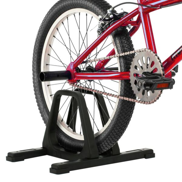 RAD Cycle Bike Stand Portable Floor Rack Bicycle Park For Smaller Bikes $14.99