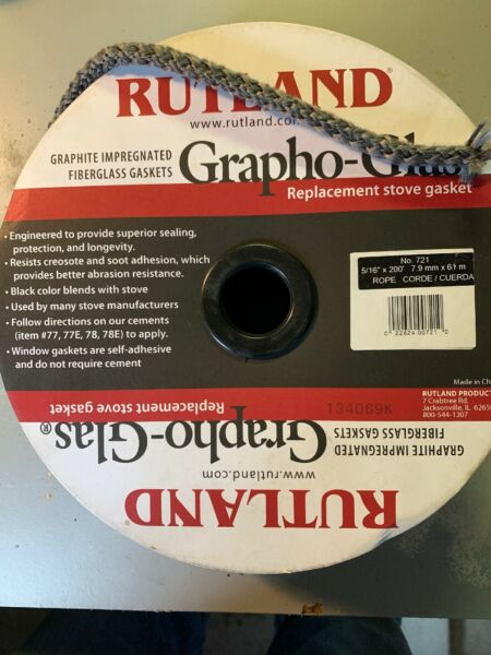 Wood Stove 516 Inch Gasket Sold Per Foot Vermont Castings #1203588