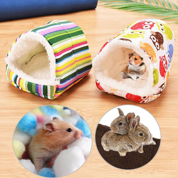 Lovely Warm Small Animal Soft Bed Mat Hamster Hedgehog Rabbit Nest Pet Supplies
