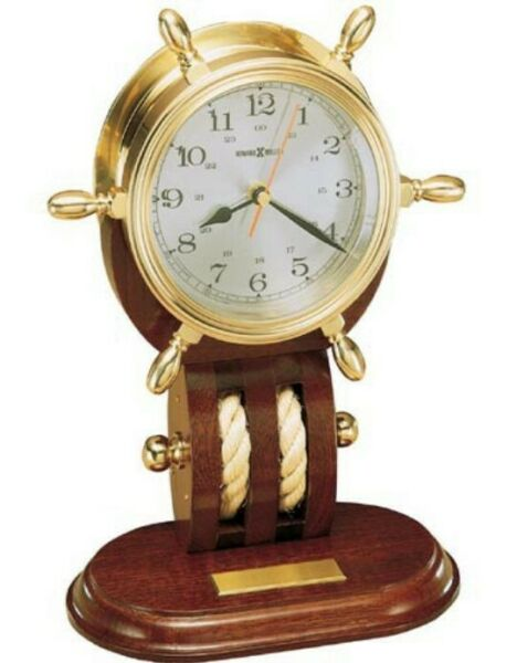 Howard Miller mantel clock - Britannia solid brass - List $549