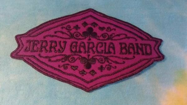 Grateful Dead Jerry Garcia Band Deal 4.5 x 2.5 Inch Iron On Patch