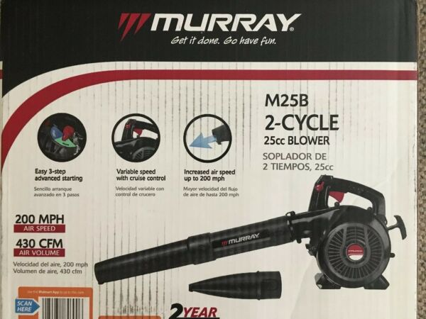 Murray 200 MPH 430 CFM 2 Cycle 25cc Gas Blower