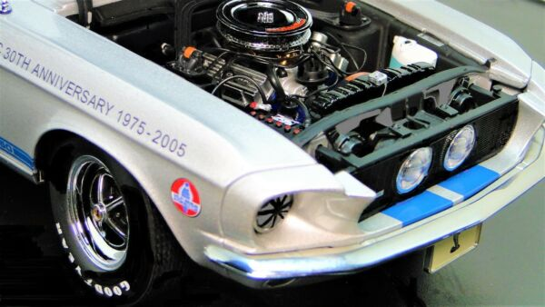 Mustang 1967 Lane Exact Detail Ford Race Car 1 GT 18 24 Vintage 40 Racing 12