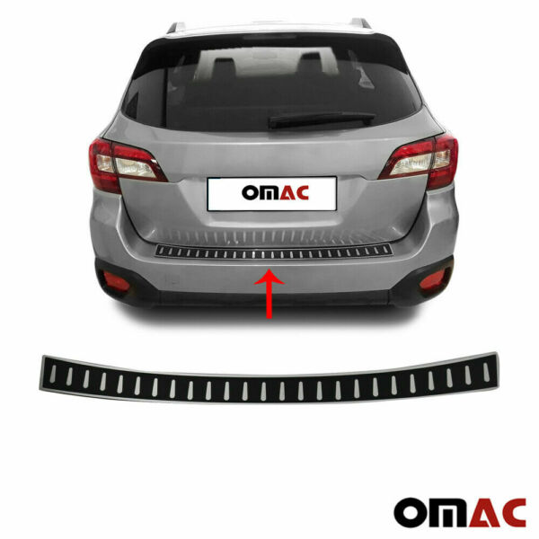 For Subaru Outback 2015 2021 Carbon Wrap Rear Bumper Guard Trunk Sill Protector $39.90