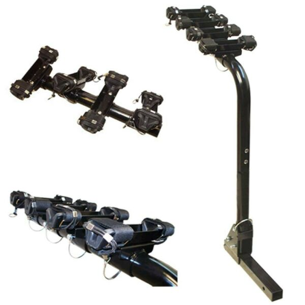 4 Bike Bicycle Carrier Mount Rack 1 1 4quot; or 2quot; Hitch Receiver $120.77