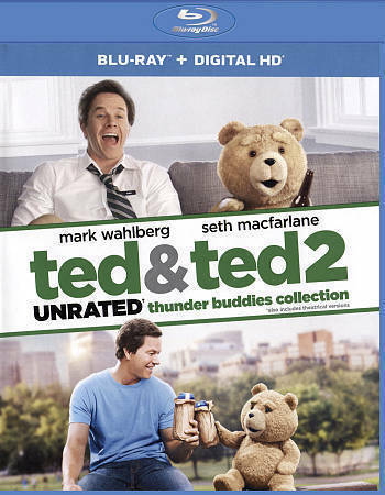 Ted & Ted 2 Thunder Buddies Collection New DVD! Ships Fast!