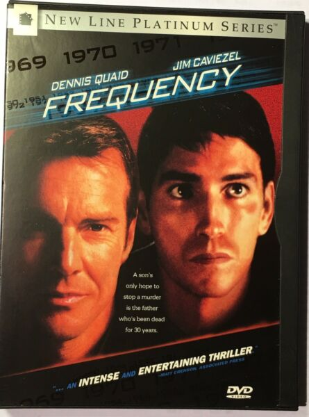Frequency (DVD 2000 Widescreen - Platinum Series) Watched Once