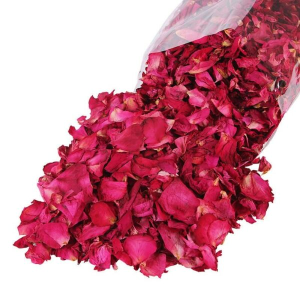 Very Blooms Biodegradable 50g Bulk Flowers Buds Dried Fresh Confetti Rose