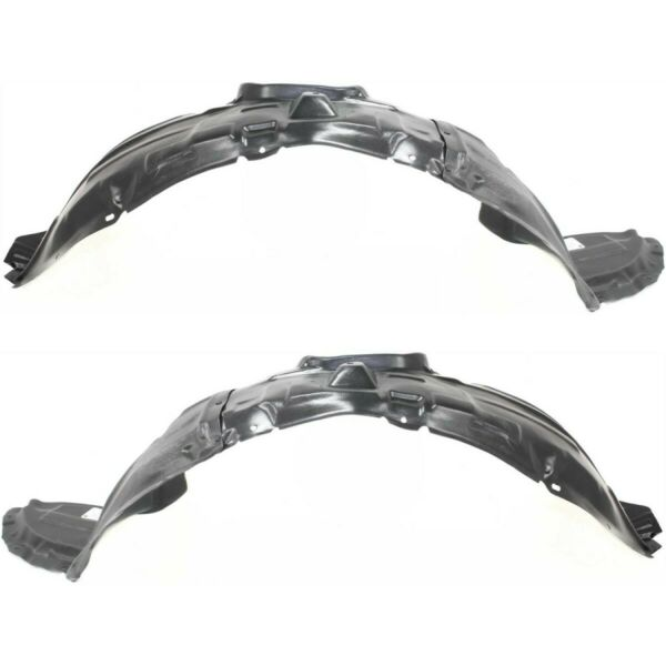 Pair Set of 2 Fender Liners Front Left-and-Right BP4L56130E BP4L56140G LH